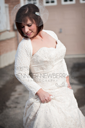 Newmarket Wedding Photographer - bride