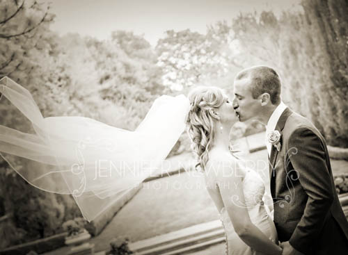 Bride and Groom at Graydon Hall Manor. Photo by www.jnphotography.ca @filemanager