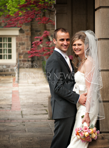 Wedding couple at Graydon Hall Manor. Photo by www.jnphotography.ca @filemanager