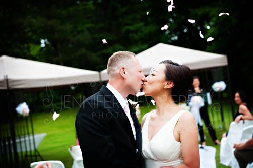 Just married kiss www.jnphotography.ca @filemanager