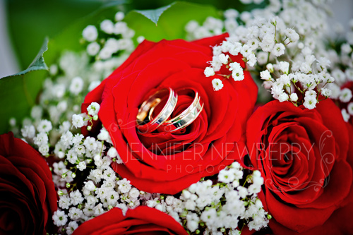 Wedding rings in bouquet by www.jnphotography.ca @filemanager