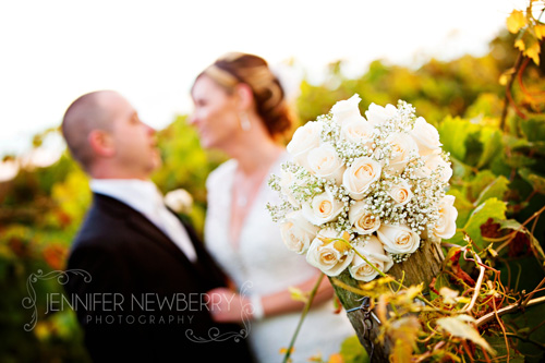 Newmarket Bride and groom with bouquet by www.jnphotography.ca @filemanager