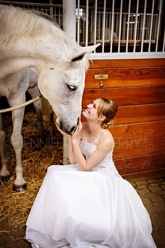 Bride and horse by www.jnphotography.ca @filemanager