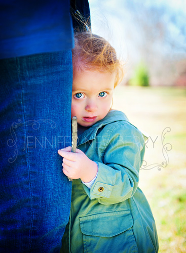 Little girl hugging her mom's leg by www.jnphotography.ca @filemanager