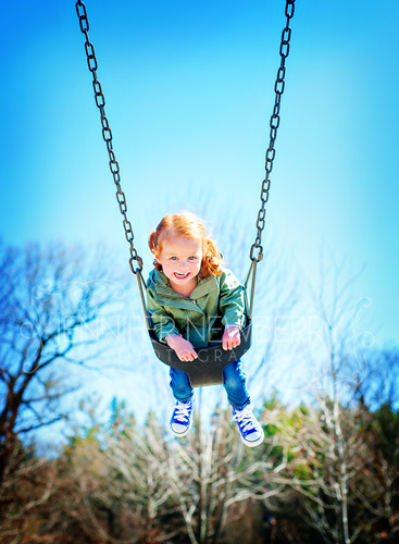 Little Leah on a swing by www.jnphotography.ca @filemanager