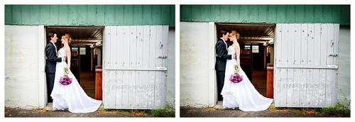 Aurora bride and groom at a barn by www.jnphotography.ca @filemanager