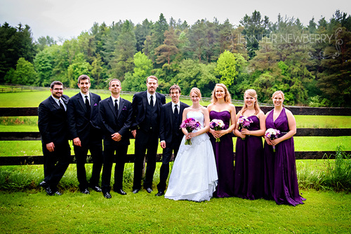 Aurora wedding party by www.jnphotography.ca @filemanager