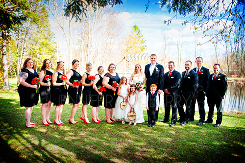 Wedding party by www.jnphotography.ca @filemanager