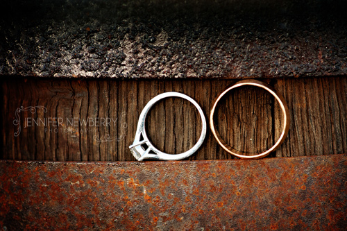 Wedding rings on a barrel by www.jnphotography.ca @filemanager