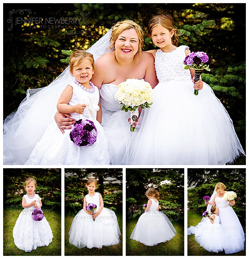 Horseshoe Resort Flower Girls by www.jnphotography.ca