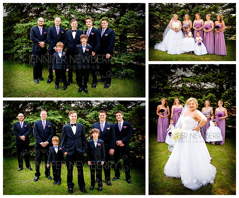 Horseshoe Resort wedding party by www.jnphotography.ca @filemanager