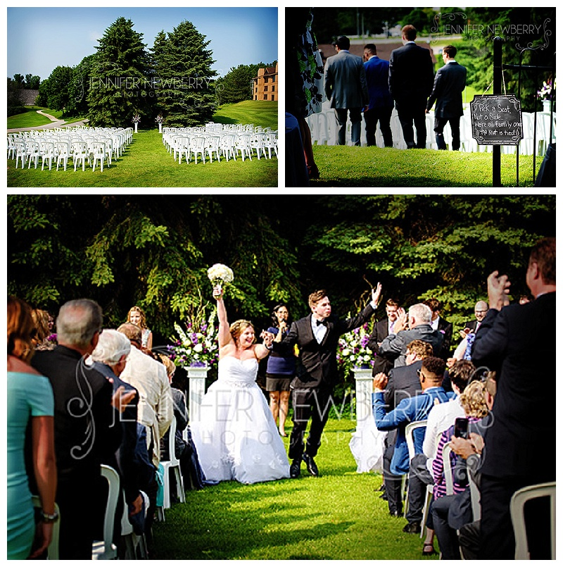 Horseshoe Resort wedding ceremony by www.jnphotography.ca @filemanager