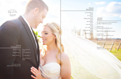 Hitched magazine table of contents, Sept 2015. Photo by www.jnphotography.ca @filemanager