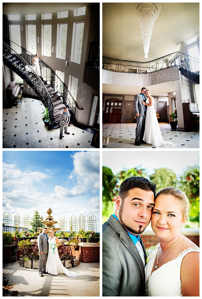 Aurora wedding photos at The Mansion Events Centre by www.jnphotography.ca