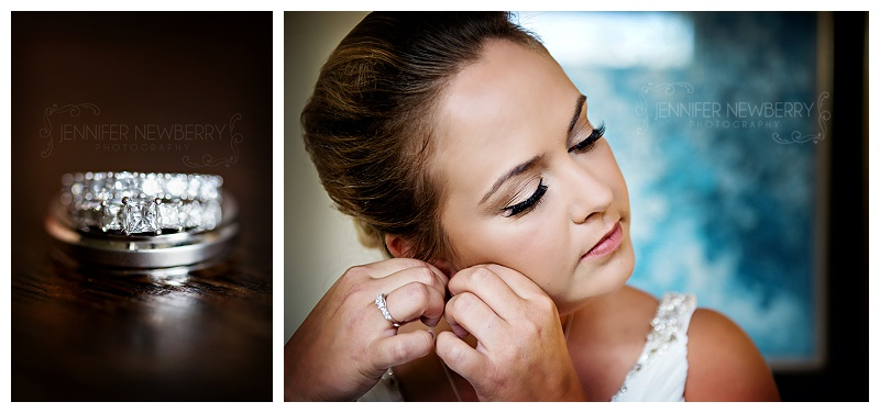 Wedding rings and Aurora bride by Aurora wedding photographer Jennifer Newberry. www.jnphotography.ca @filemanager