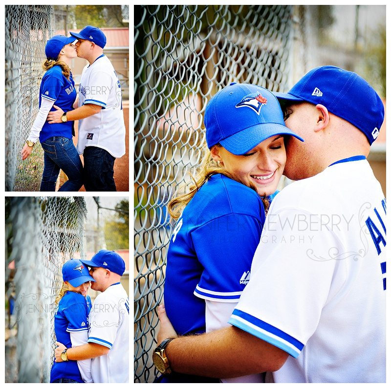 Fenelon Falls baseball engagement photos by Fenelon Falls photographer www.jnphotography.ca @filemanager