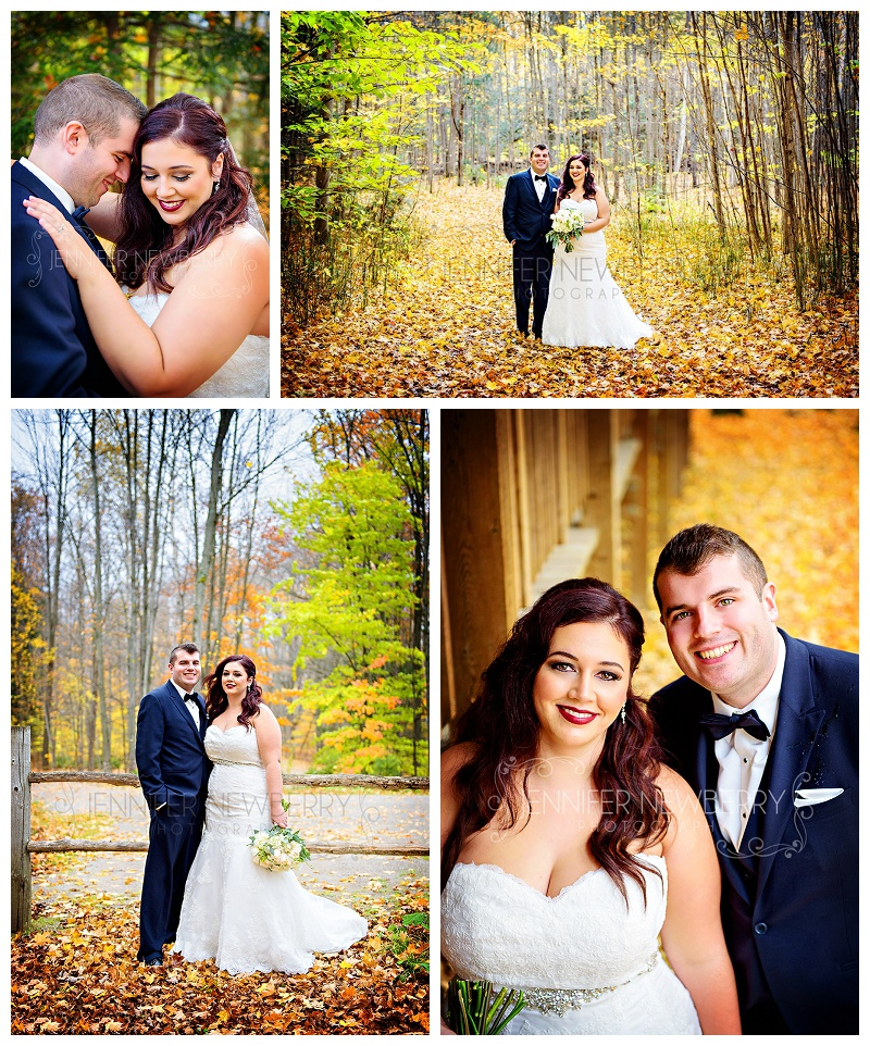 Tiffin Centre for Conservation Fall wedding couple by www.jnphotography.ca @filemanager
