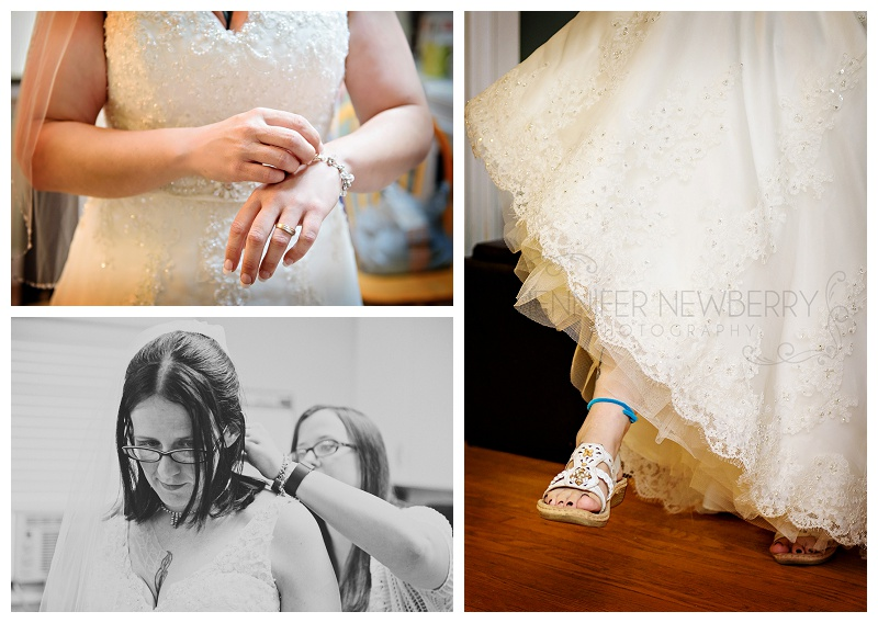 Bradford bride getting ready. Photos by Bradford wedding photographer www.jnphotography.ca @filemanager
