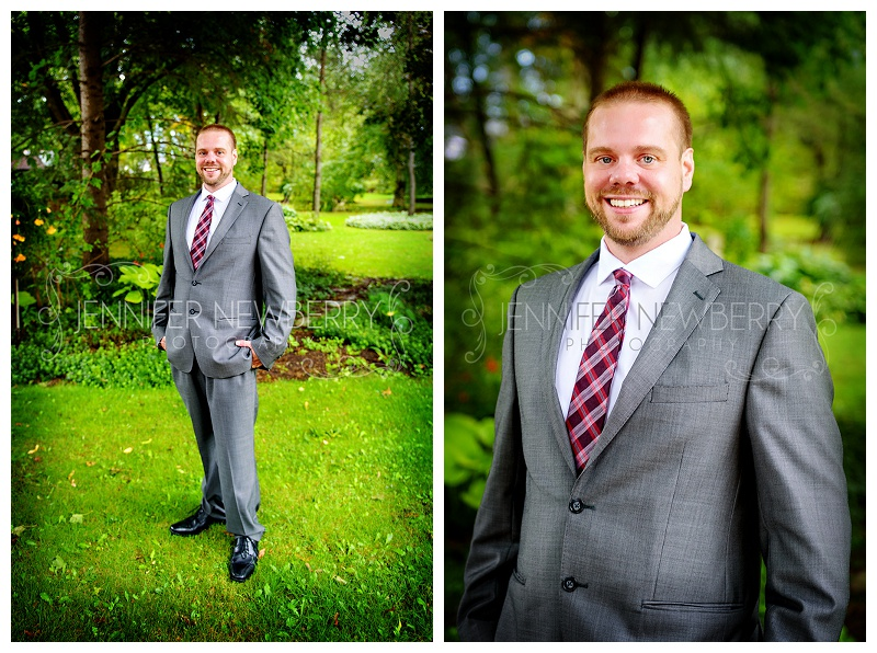 Bradford groom. Photos by Bradford wedding photographer www.jnphotography.ca @filemanager