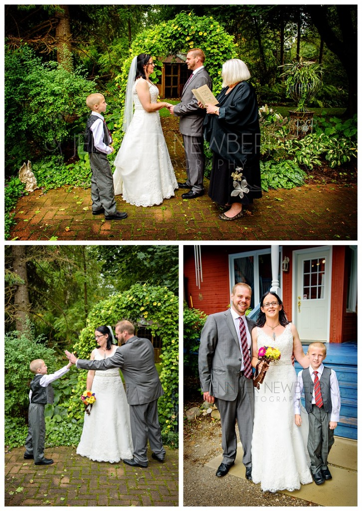 Bradford wedding ceremony. Photos by Bradford wedding photographer www.jnphotography.ca @filemanager