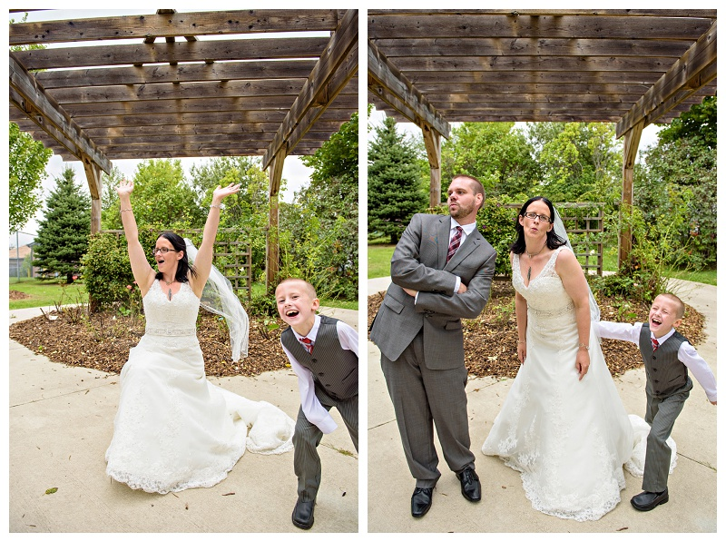 Funny bride and groom by Bradford wedding photographer www.jnphotography.ca @filemanager