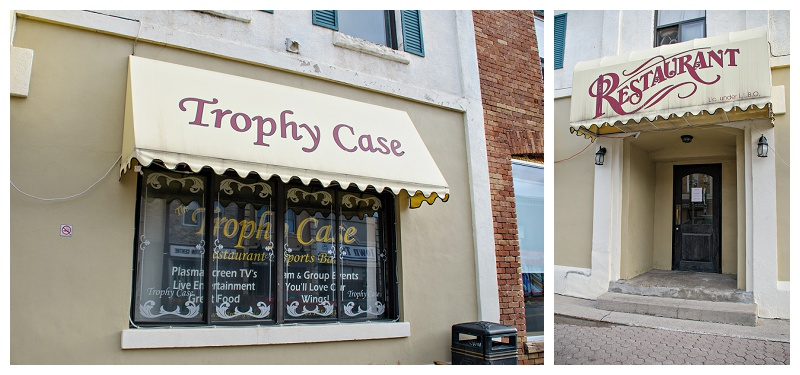 Bradford Trophy Case restaurant by Bradford wedding photographer www.jnphotography.ca @filemanager