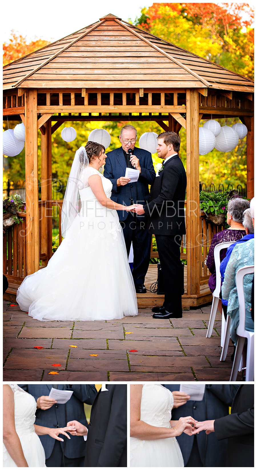 Milton wedding photos of an outdoor ceremony at The Grand Chalet by www.jnphotography.ca @filemanager
