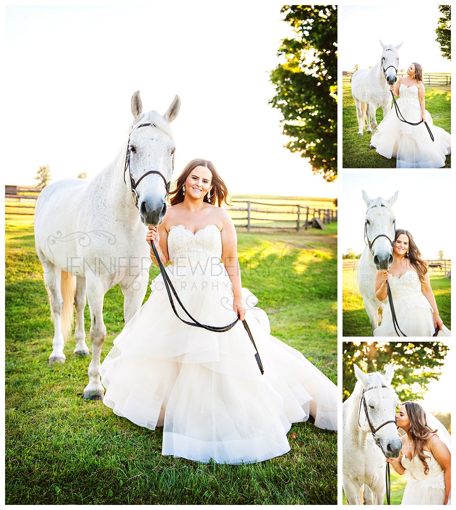 Waterstone Estate bride with horse photos by www.jnphotography.ca @filemanager