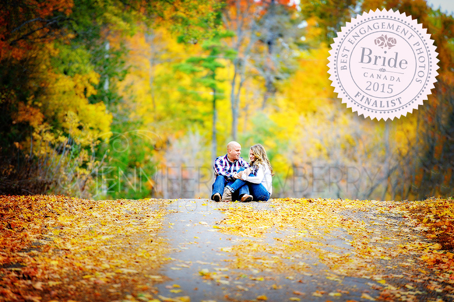 Fall engagement photo by Fenelon Falls engagement photographer www.jnphotography.ca @filemanager
