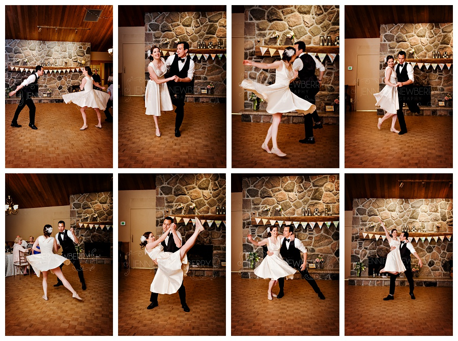 Waterstone bride and groom choreographed swing dance, first dance photos by Newmarket wedding photographer www.jnphotography.ca @filemanager