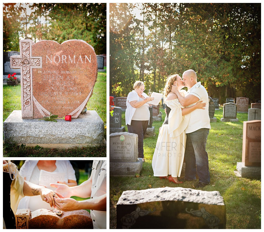 Newmarket Cemetery wedding photos by Newmarket wedding photographer www.jnphotography.ca @filemanager