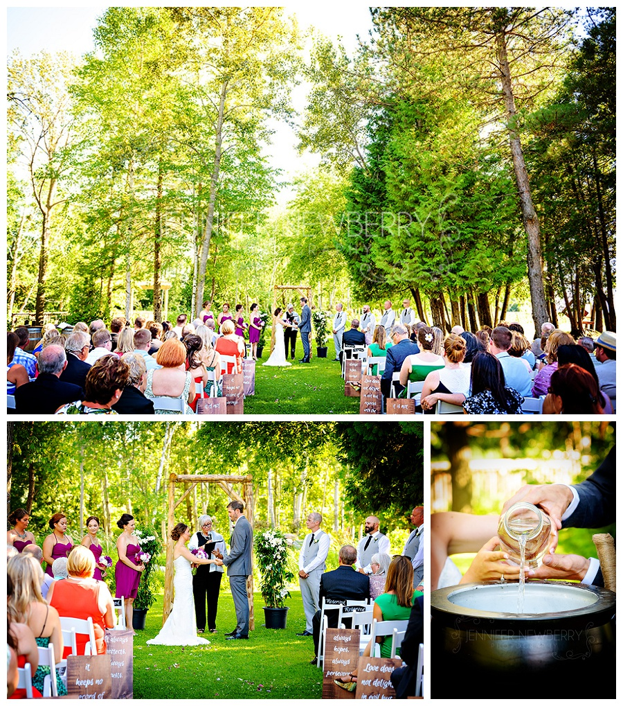Holland Marsh Wineries wedding ceremony photos by Newmarket wedding photographer www.jnphotography.ca @filemanager