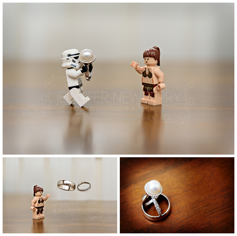 Star Wars wedding ring photos by Newmarket wedding photographer www.jnphotography.ca @filemanager