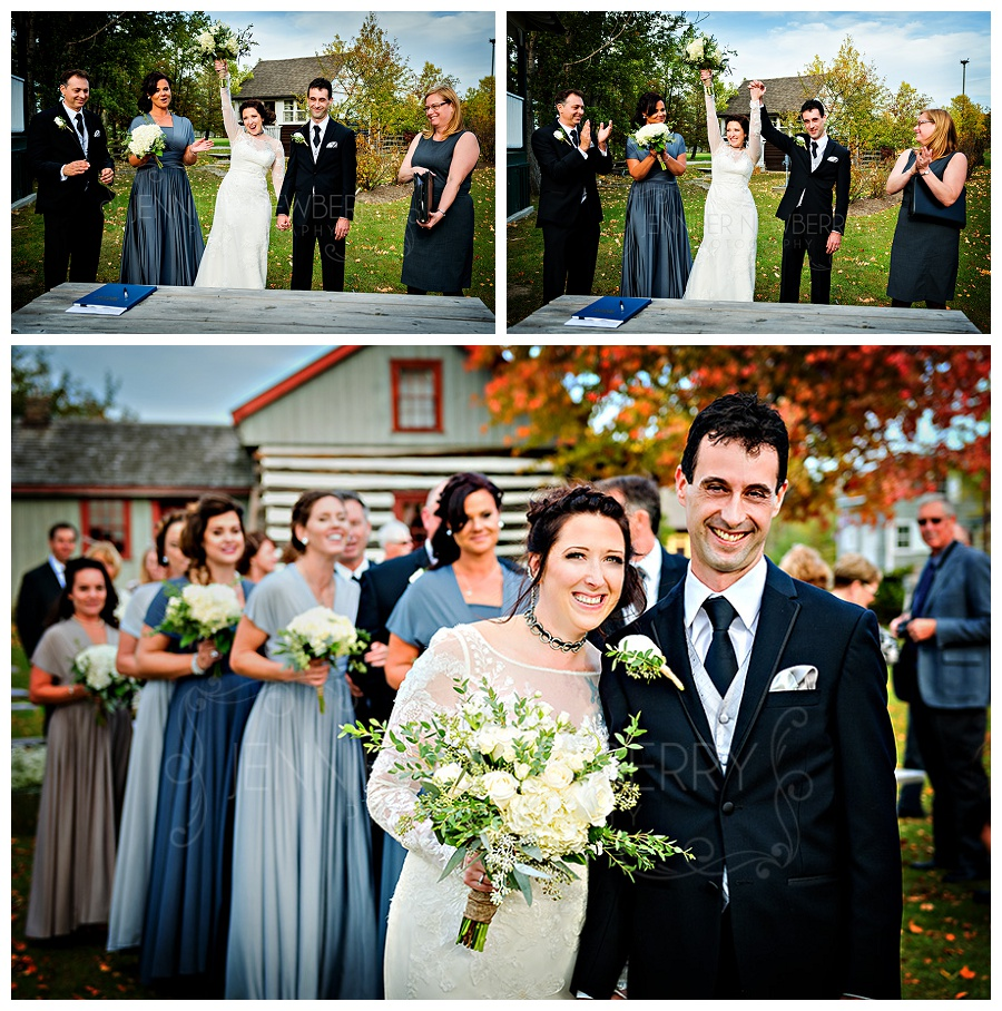 The ROC Georgina Pioneer Village wedding ceremony photos by www.jnphotography.ca @filemanager