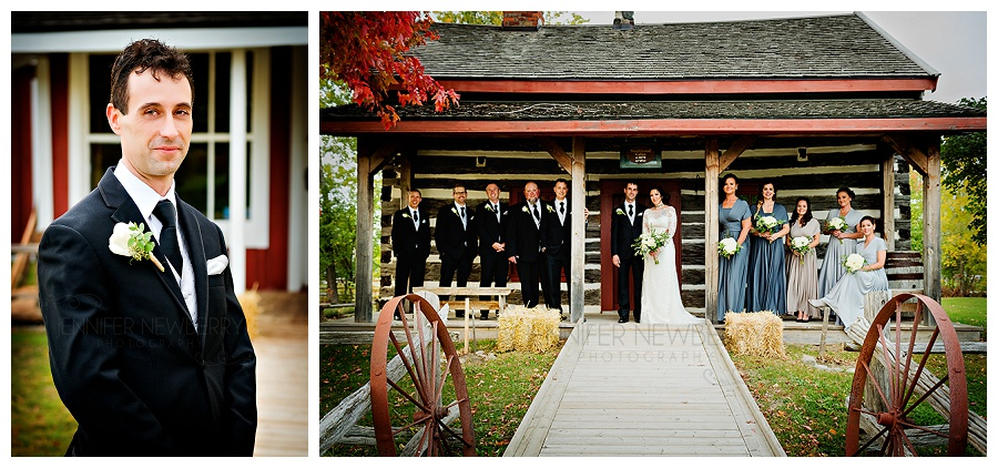 The ROC Georgina Pioneer Village wedding party photos by www.jnphotography.ca @filemanager