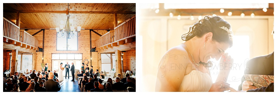 Newmarket Holland Marsh Winery wedding indoor ceremony photos by www.jnphotography.ca @filemanager