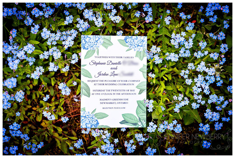 Newmarket wedding invitation. Photo by Madsen's Newmarket wedding photographer, www.jnphotography.ca @filemanager