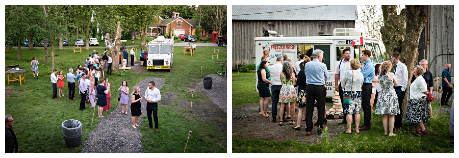Caledon wedding ice cream truck photos, by Caledon wedding photographer Jennifer Newberry Photography www.jnphotography.ca @filemanager