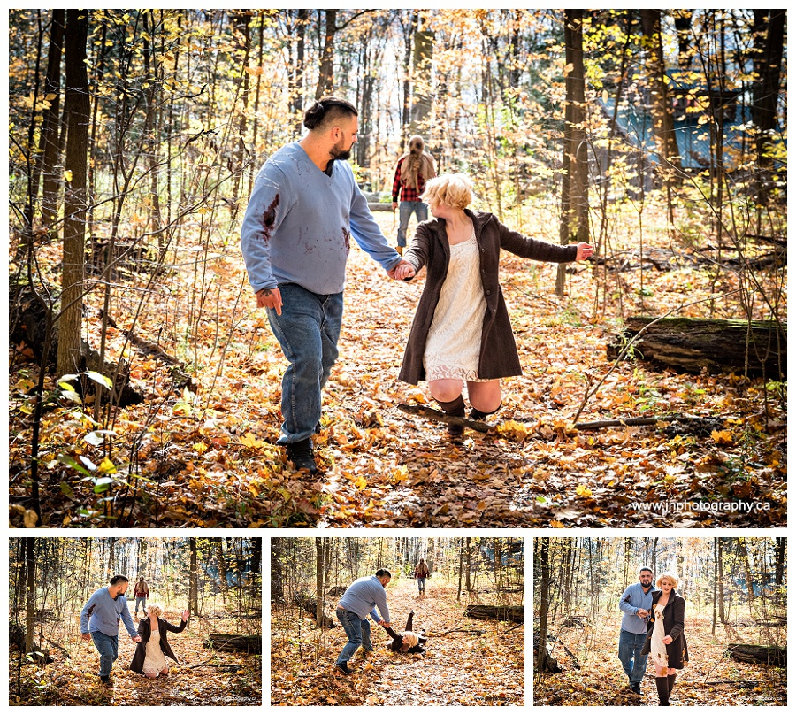 Horror Themed Engagement photos by Newmarket engagement photographer www.jnphotography.ca @filemanager