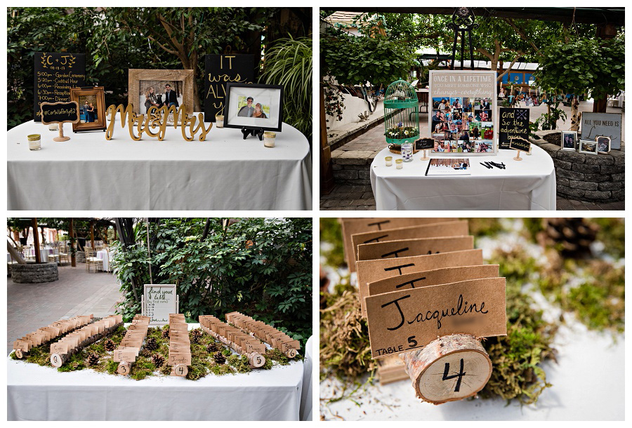 Newmarket wedding decor photos at Madsen's Greenhouse, by Newmarket wedding photographer www.jnphotography.ca @filemanager