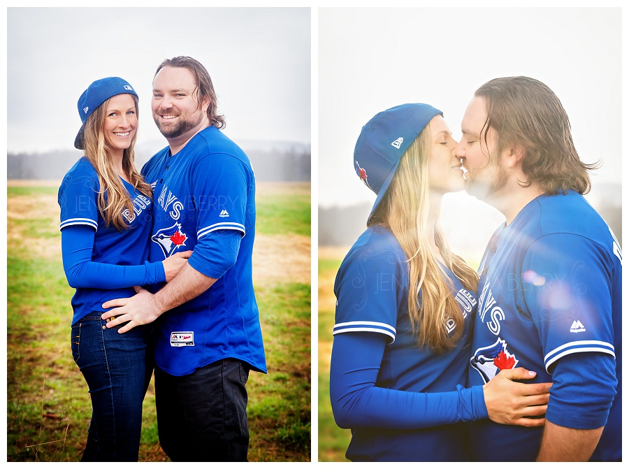 Blue Jays engagement photos by www.jnphotography.ca @filemanager