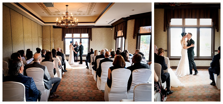 King's Riding indoor wedding ceremony photos by King City wedding photographer www.jnphotography.ca @filemanager