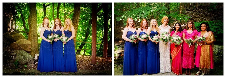 Fantasy Farm wedding party photos by Toronto wedding photographer www.jnphotography.ca